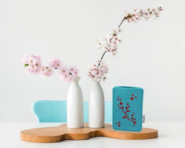 Handyhülle Blütenranke